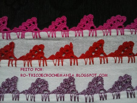 barrado crochet carreira unica