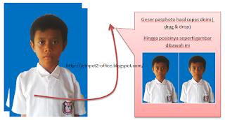 membuat dan mencetak sendiri pasphoto dengan MS Word