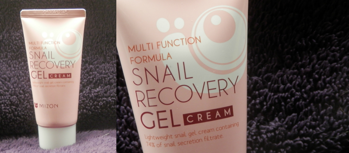 Mizon Snail Recovery Gel Cream Review