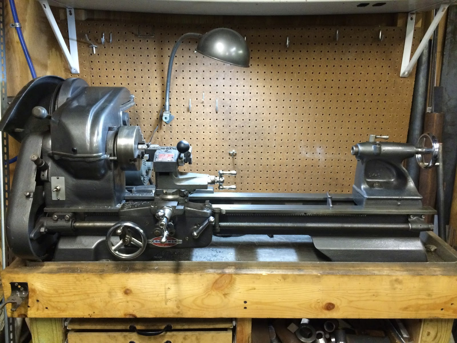 Atlas Craftsman Lathe