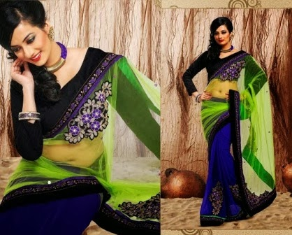 Gorgeous Art Indian Sarees Blouse
