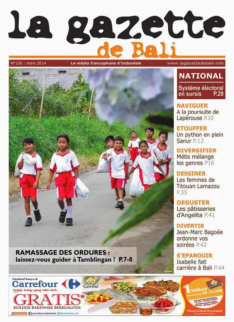 La Gazette de Bali mars 2014