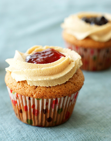 Peanut Butter And Jelly Cupcake Recipe