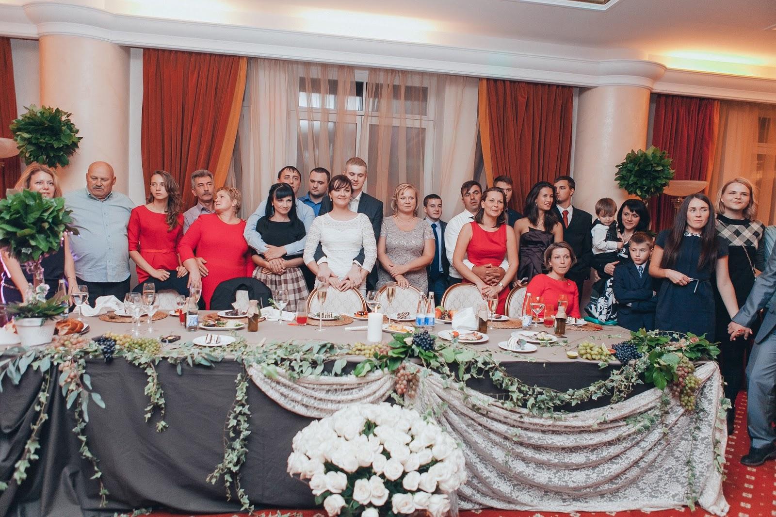 гости итальянской свадьбы