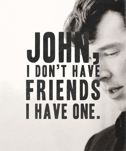 John, I dont have friend, i have one