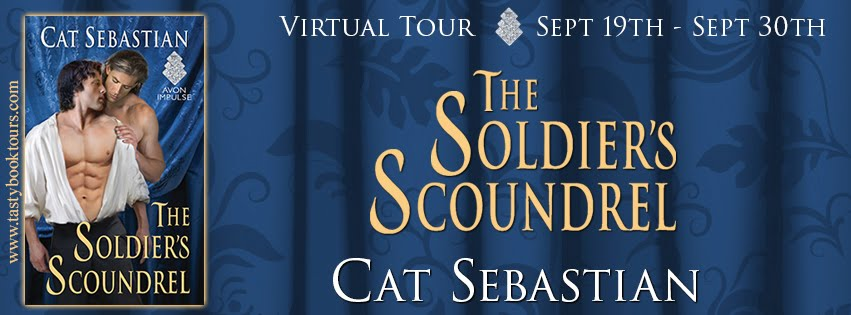 """""""The Soldier's Scoundrel"""" by Cat Sebastian"""