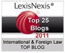 LexisNexis Top 25 Blogs