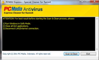 PCMAV Express for Ramnit