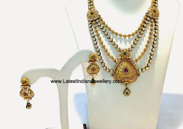 Latest Kundan Bridal Necklace