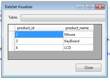 .Net Tips : Fill DataTable from another DataTable using LINQ