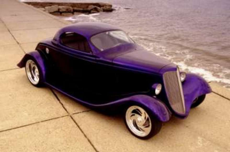 Old cars online: Ford Hot Rod 3 window coupe For Sale