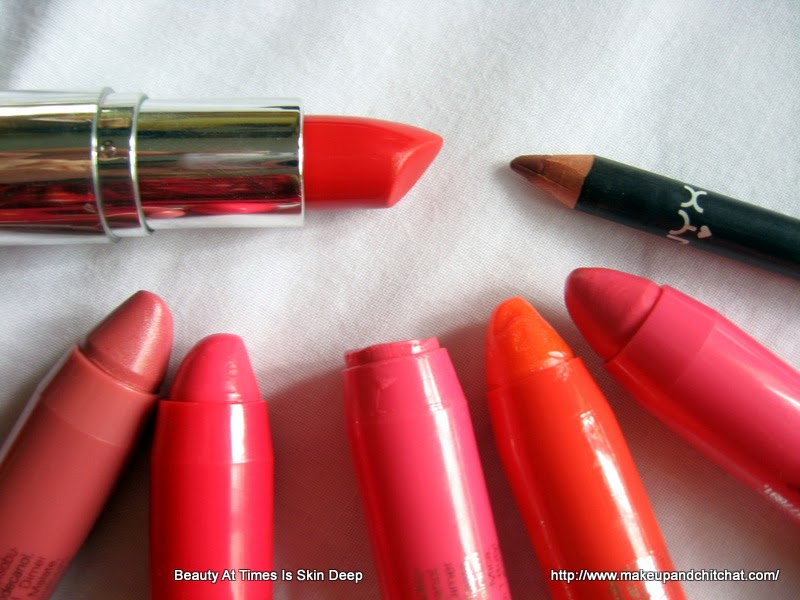 Lip makeup favorites of September