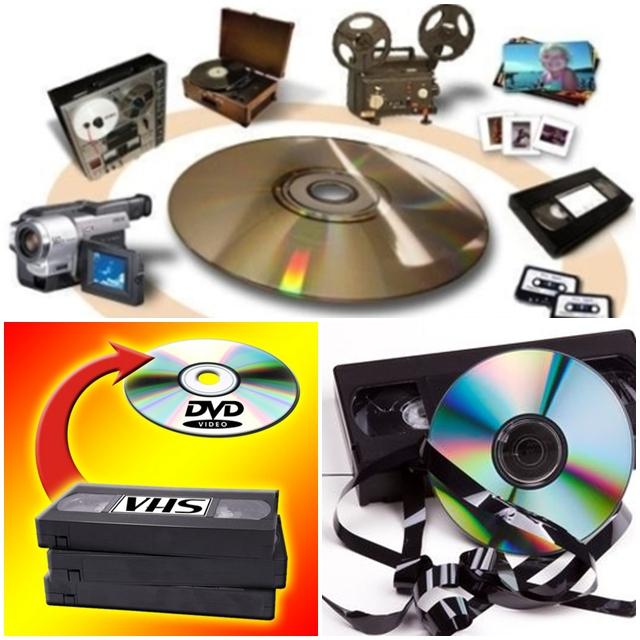 Pasamos todo a DVD