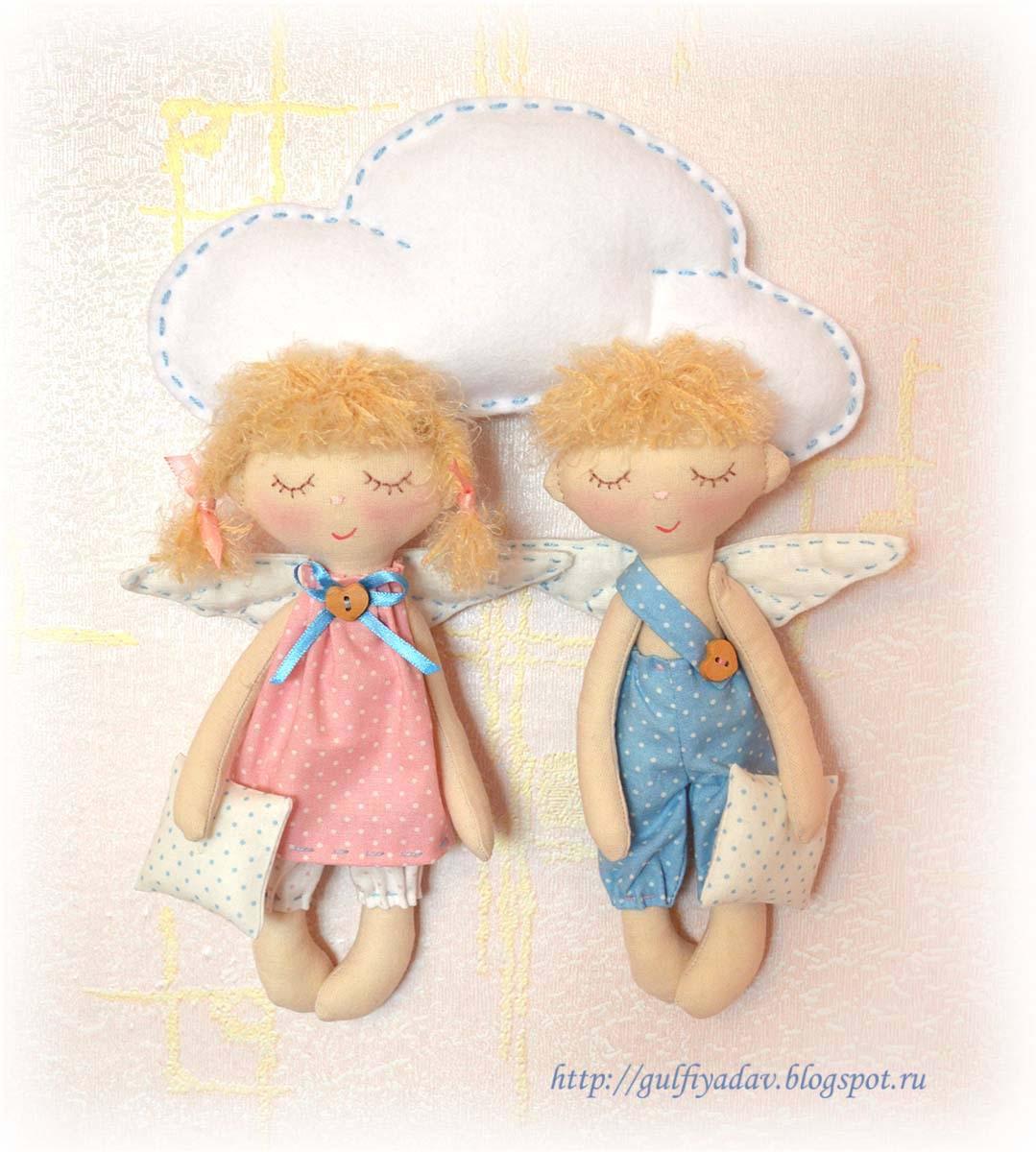 Ангелы маленькие своими руками