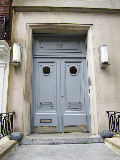 Front Doors On The Upper East Side Made By Girl