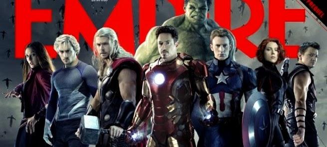 Vingadores: Era de Ultron | Heróis reunido em arte e imagens inédita da sequência