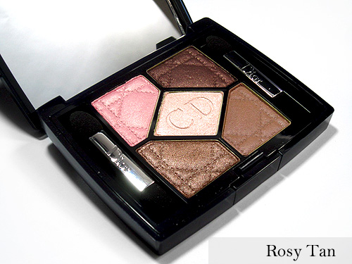 Dior Rosy Tan Eyeshadow Palette
