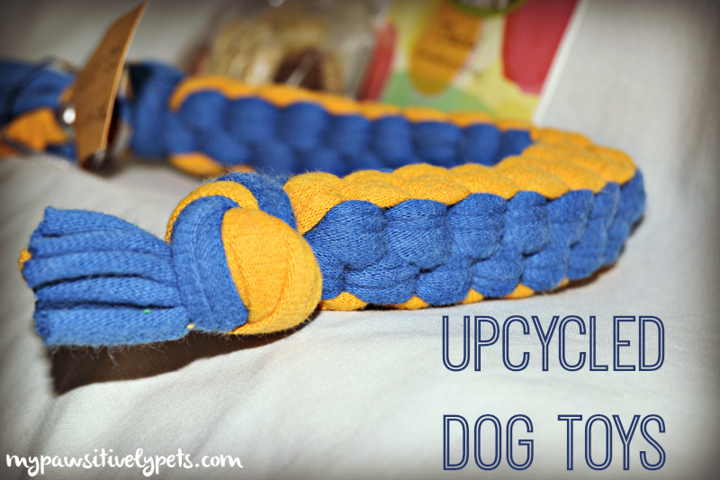 Upcycled dog toys made from t shirts pawsitively pets for T shirt dog toy