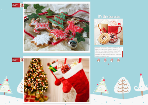 description a simple yet charming christmas theme made by work it out themes from tumblrcom - Christmas Themes For Work