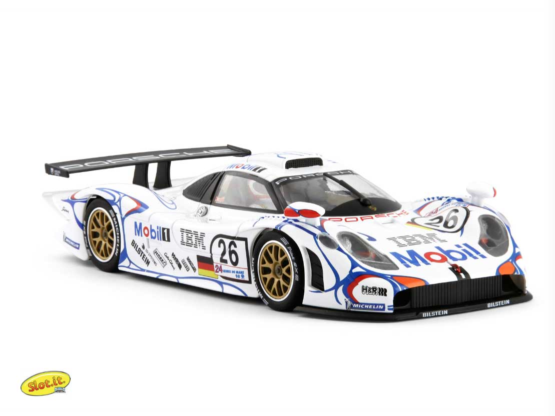 manicslots 39 slot cars and scenery news porsche 911 gt1 le mans winners le. Black Bedroom Furniture Sets. Home Design Ideas