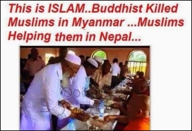 Rohingya dibunuh