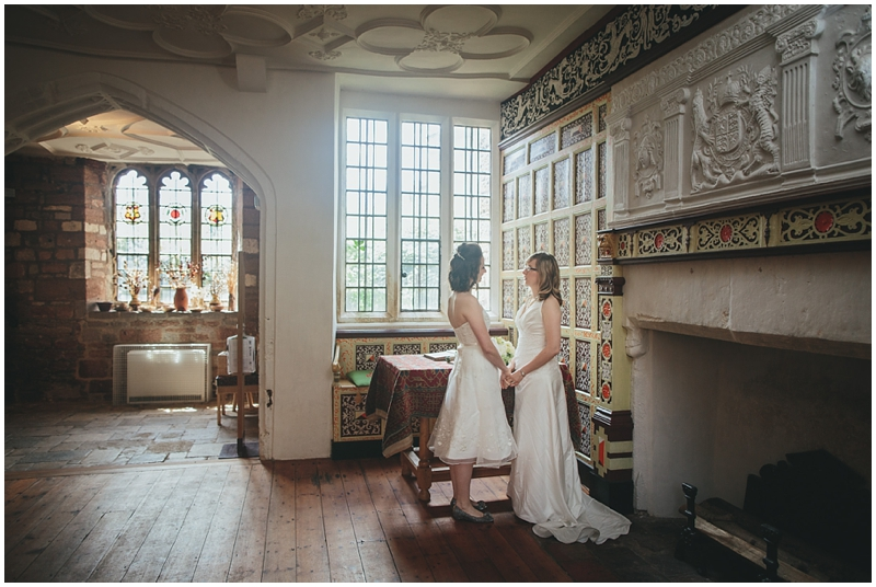 Ceremony in the Parlour at St Nicholas Priory