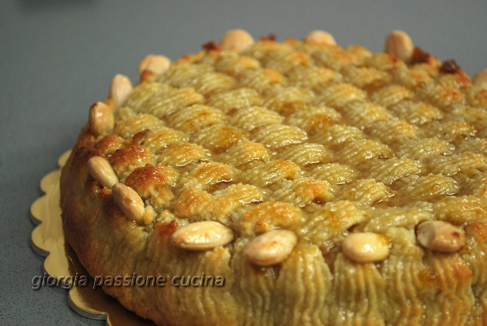 Dolci con pasta di mandorle ricetta