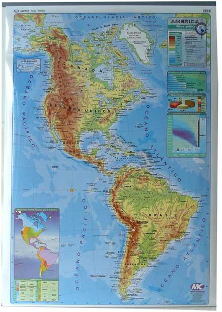 Worksheet. Mapa del continente americano fisico politico  Imagui