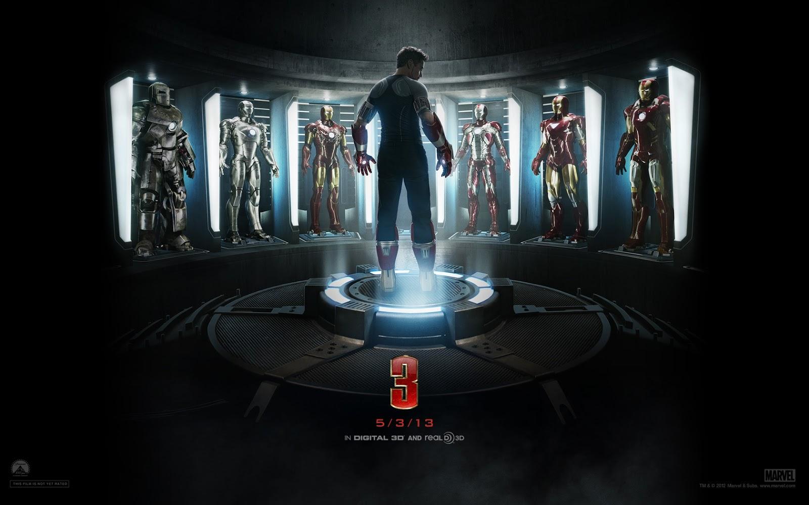 tony stark iron man 3 wallpaper hd - wallpaper hd