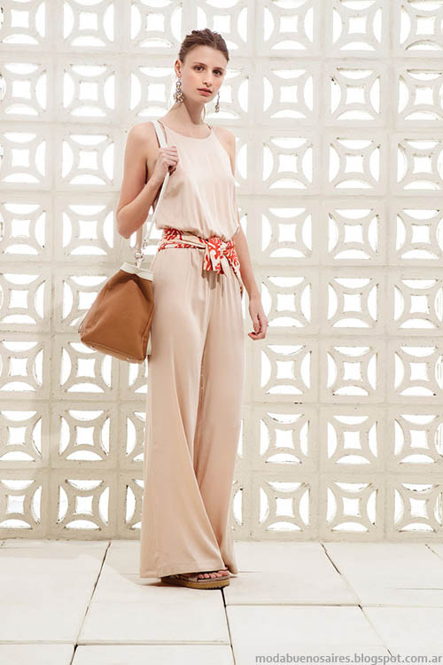 Monos de moda veran 2015 en la colección Clara primavera verano 2015.