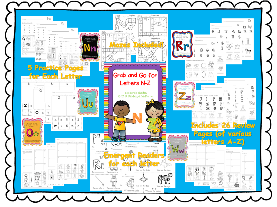 http://www.teacherspayteachers.com/Product/Letters-N-Z-RTI-Grab-and-Go-766068