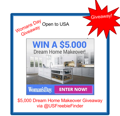 image Womans Day Dream Home Makeover Giveaway Open to USA