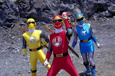 Power Rangers: Tempestade Ninja