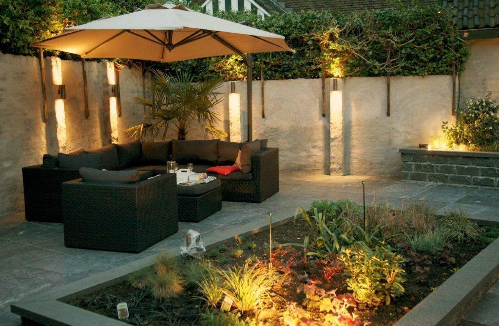 Dise os terranova una perfecta iluminaci n para tu jard n for Luces de exterior para jardin