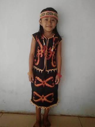 Batik Motif Dayak Khas Kalimantan, : April 2014