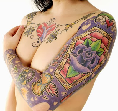 Lovely Lollie's tattoos