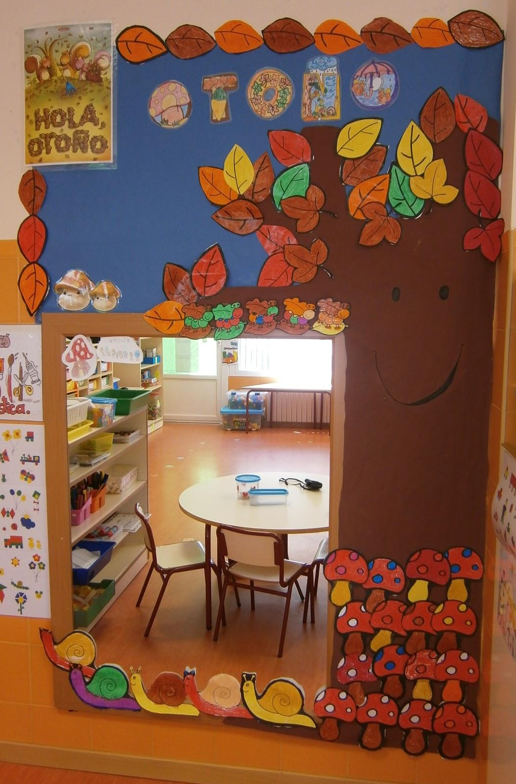 La clase de miren mis experiencias en el aula ya es oto o for Decoracion otono infantil