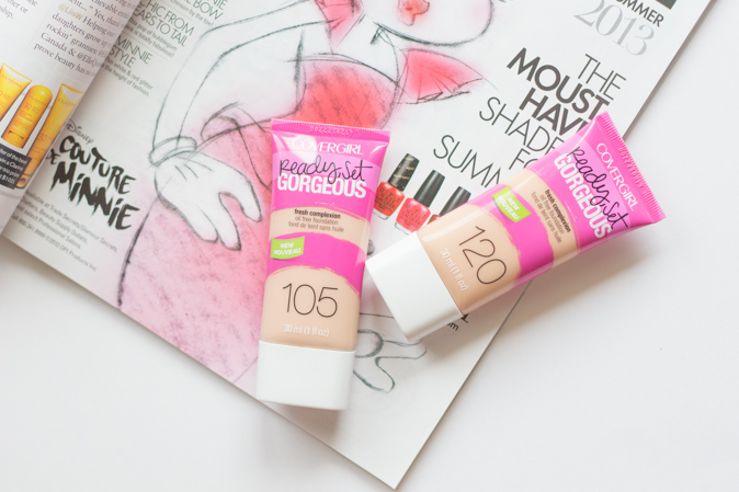 covergirl ready set gorgeous foundation review