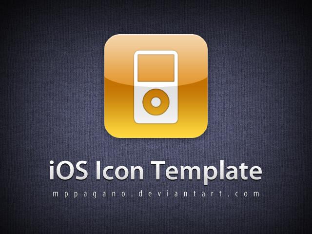iOS Icon Template PSD (Apple Icon Template PSD) | Graphicro ...