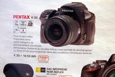 Fotografia della Pentax K-30