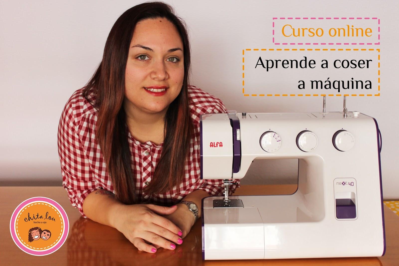 Aprende a coser a máquina. Curso online gratuito - Chita