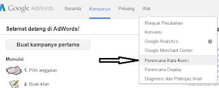Cara Riset Keyword Yang Banyak Dicari Menggunakan Adwords