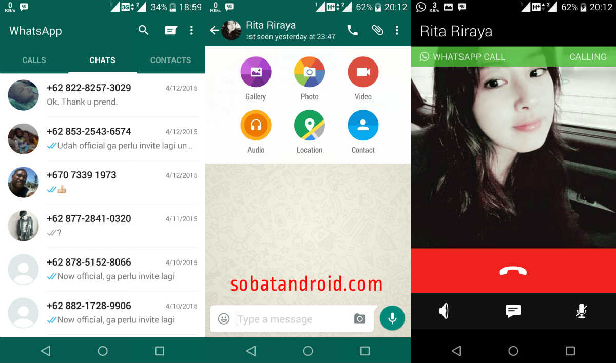Download WhatsApp Android Apk 2.12.41 UI Material Design