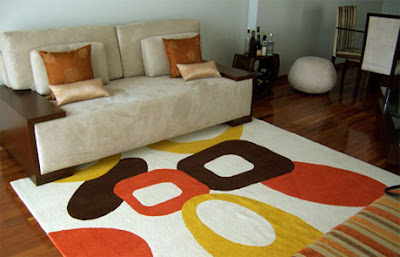 To know carpets and rugs in decorate a room
