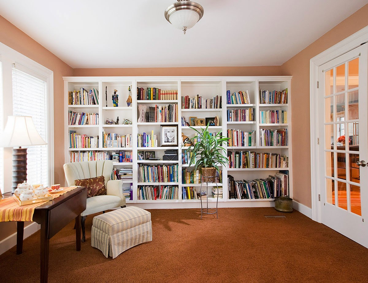 Simple Simple Home Library With Classic Home Library.