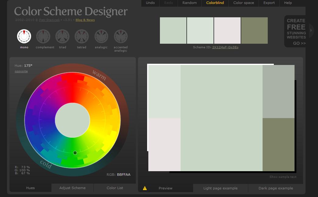 2  Color Scheme Designer Part 51