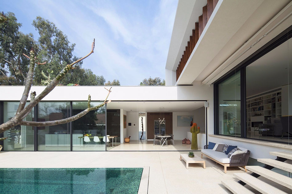 First Passive House Retrofit California moreover Leisure And Education furthermore English Renaissance likewise 15 Lovely Swimming Pool House Designs also 30550. on courtyard u shaped house plans
