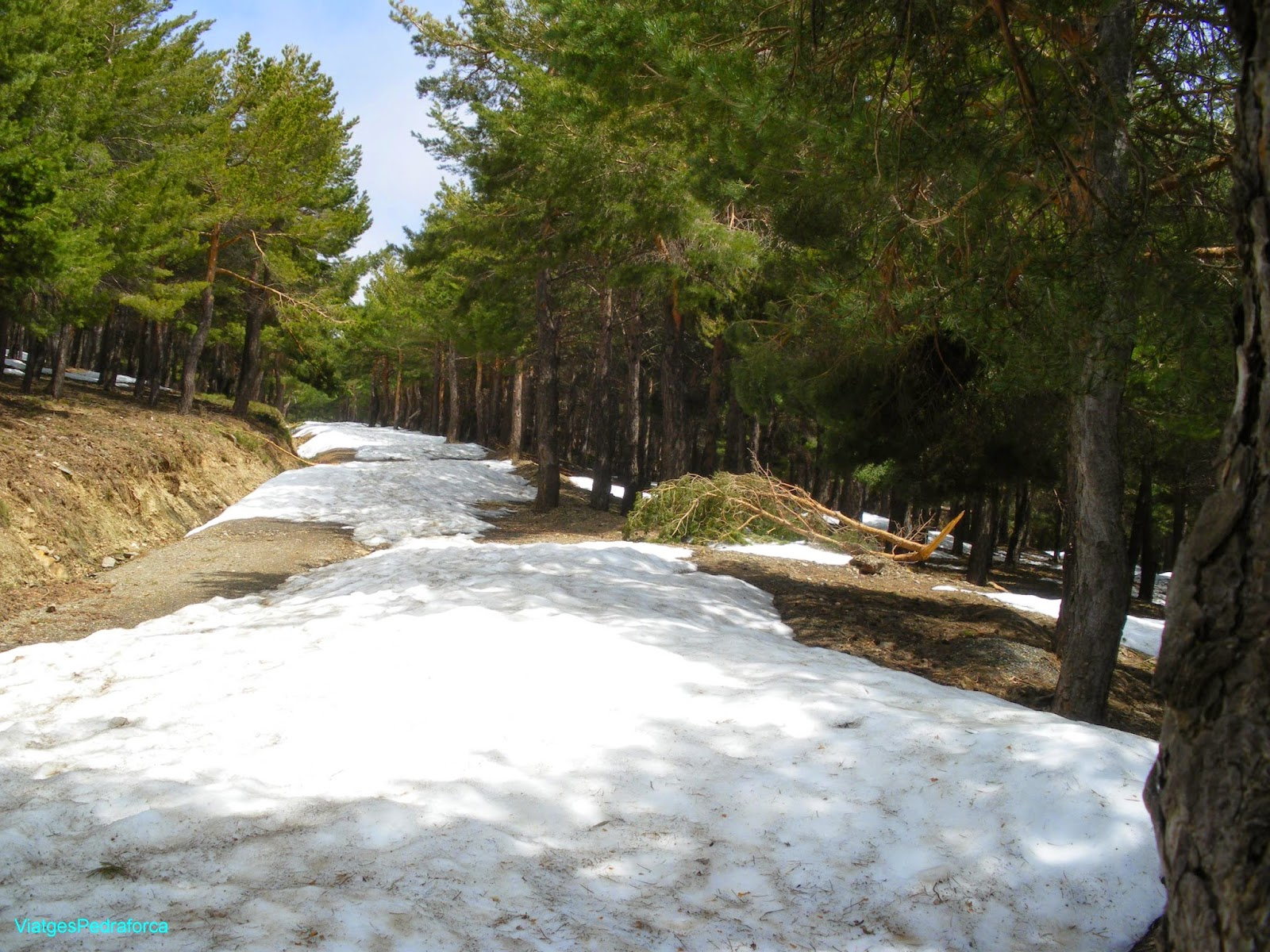 Hoya del Portillo Alpujarra Granada Sierra Nevada Barranco del Poqueira Andalucia