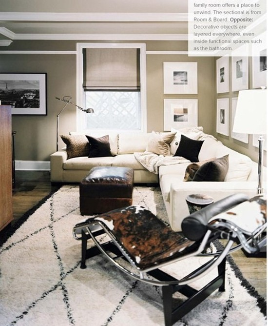Black white beige for Black and beige living room ideas