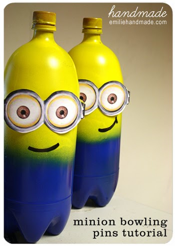 DIY Minion Bowling